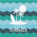 Best summer Royalty Free Stock Photography