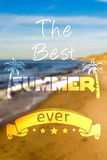 The best summer ever Stock Image