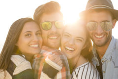 The best summer is with friends Stock Photography