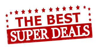 The best super deals Royalty Free Stock Photos