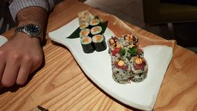 Best sushi of London II royalty free stock photo