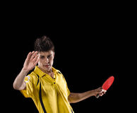 Best Table tennis player Royalty Free Stock Images