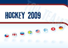 Best teams hockey 2009 Stock Images