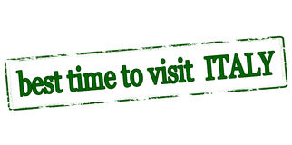 Best time to visit Italy Royalty Free Stock Photos