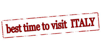 Best time to visit Italy Stock Photography