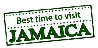 Best time to visit Jamaica Royalty Free Stock Photos