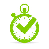 Best time vector icon Stock Photo