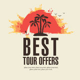 Best tour offers Stock Photo