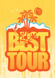 Best tours Royalty Free Stock Image