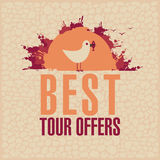 Best Tours Offers Royalty Free Stock Photos