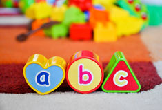 Best toys are learning forms Stock Images