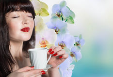 The best traditions of Asian tea Stock Photo