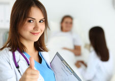 Best treatment and patient care concept Stock Photo
