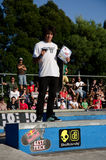 Best trick contest winner Royalty Free Stock Photo