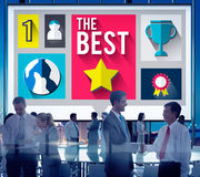 The Best Trophy Prize Finest Fulfillment Concept Royalty Free Stock Image
