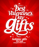 Best Valentine`s day gifts. Royalty Free Stock Photography