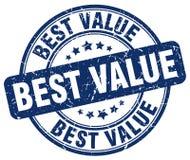 Best value blue grunge round vintage stamp Stock Images