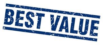 Best value stamp Stock Image