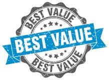 Best value stamp. Sign. seal royalty free illustration