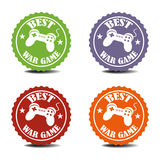 Best war game stickers Stock Images