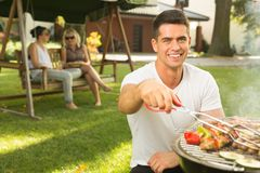 Best way to spend sunny summer days Stock Image