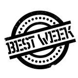 Best Week rubber stamp Stock Photos