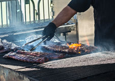 Best in the West Rib Cookoff Royalty Free Stock Photos