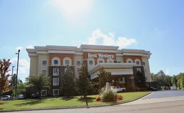 Best Western. International, Inc. , operator of the  Hotels & Resorts brand, operates about 4,200 hotels and motels Stock Photo