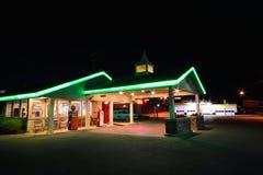 Best Western cerca el motel del asilo con barandilla Motel famoso en Route 66 imagenes de archivo