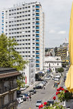 Best Western Eurotel Riviera in Montreux Royalty Free Stock Photos