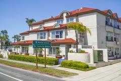 Best Western hotell i Coronado - SAN DIEGO - KALIFORNIEN - APRIL 21, 2017 Royaltyfri Fotografi