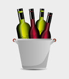 the best wine collection Royalty Free Stock Photography