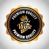 Best wine design Royalty Free Stock Image