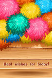 Best wish Stock Photography
