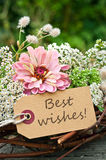 Best wishes Stock Image