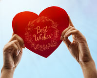 Best Wishes Greeting Cards Gift Cards Concept Stock Images