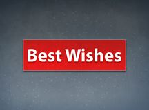Best Wishes Red Banner Abstract Background. Best Wishes Isolated on Red Banner Abstract Background illustration Design stock illustration