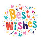Best Wishes Royalty Free Stock Images