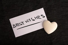 Best wishes for a loved one Royalty Free Stock Photo