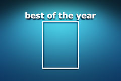 Best of the year Royalty Free Stock Image