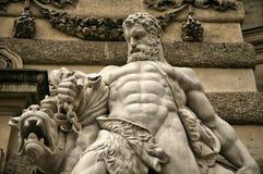 Besta de estrangulamento de Hercules Foto de Stock Royalty Free