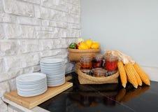 Bestandteil in der Küche Lizenzfreies Stockfoto