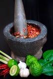 Bestandteil-Thailand-Lebensmittel Stockfotografie