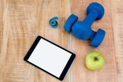 Bestandteile für einen gesunden Lebensstil Stockfotos
