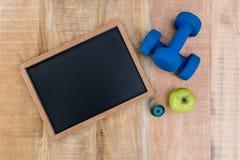 Bestandteile für einen gesunden Lebensstil Stockfoto