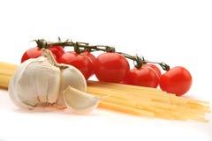 Bestandteile für italienische Teigwaren Stockbilder