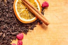 Bestandteile f?r Tee lizenzfreies stockfoto