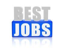 Beste banen Royalty-vrije Stock Afbeeldingen