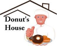 Beste donuts Royalty-vrije Stock Foto's