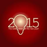 2015 beste ideeën Vector Illustratie
